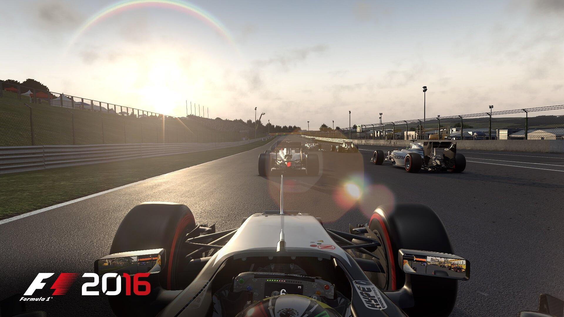 F1 2016: Unterwegs auf dem Hungaroring (Bildrechte: Feral Interactive)