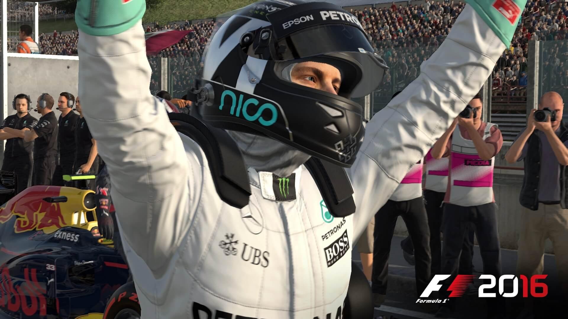 F1 2016: Gewonnen (Bildrechte: Feral Interactive)