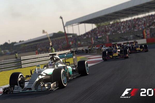 F1 2016: In Silverstone röhren die Motoren (Bildrechte: Feral Interactive)