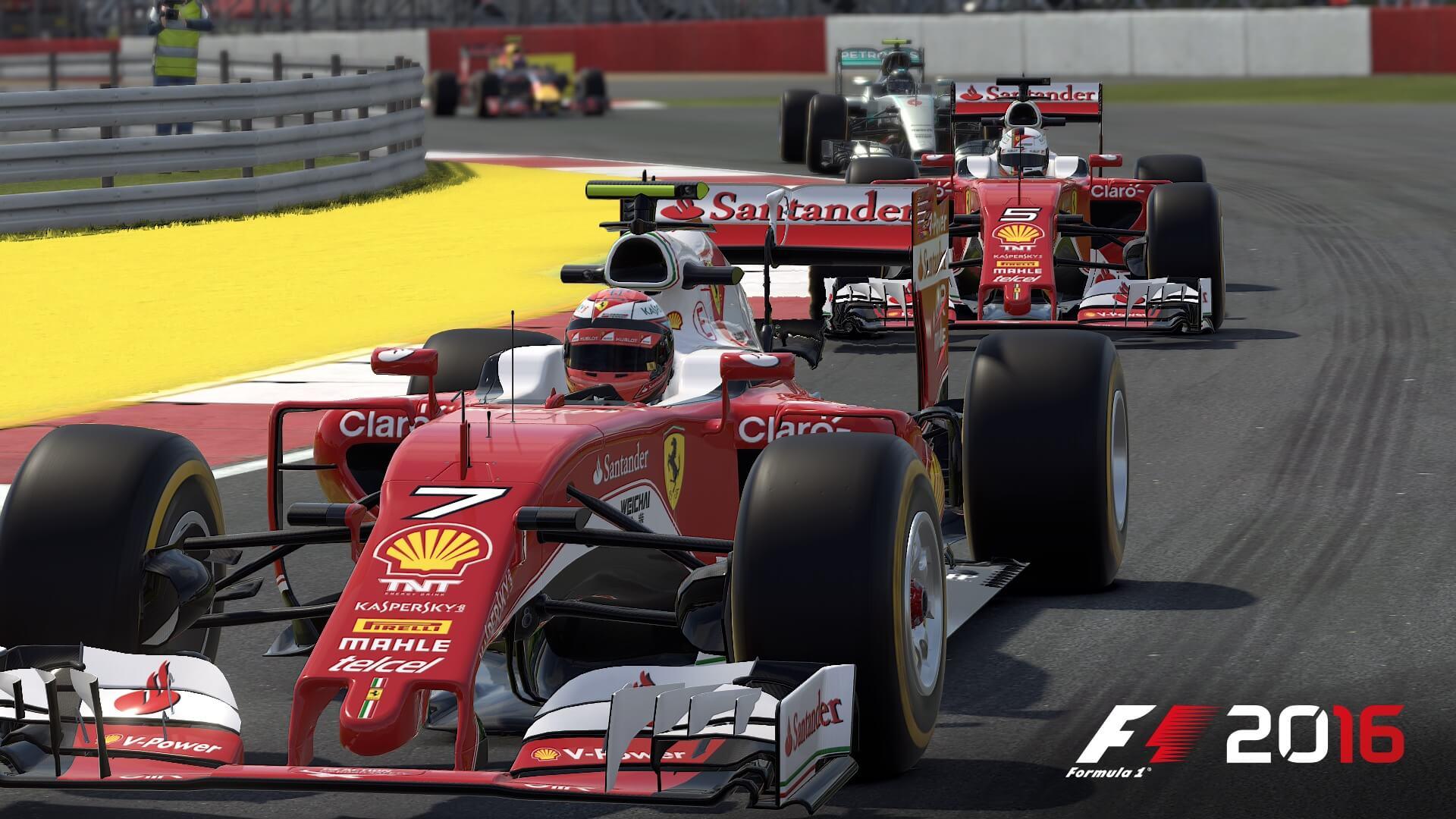 F1 2016: Endlich mal trocken in England (Bildrechte: Feral Interactive)