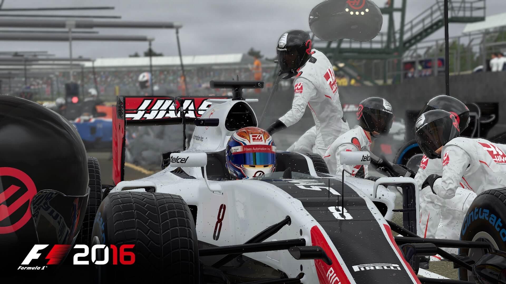 F1 2016: Runter mit den Slicks! Es hat wieder angefangen zu regnen (Bildrechte: Feral Interactive)