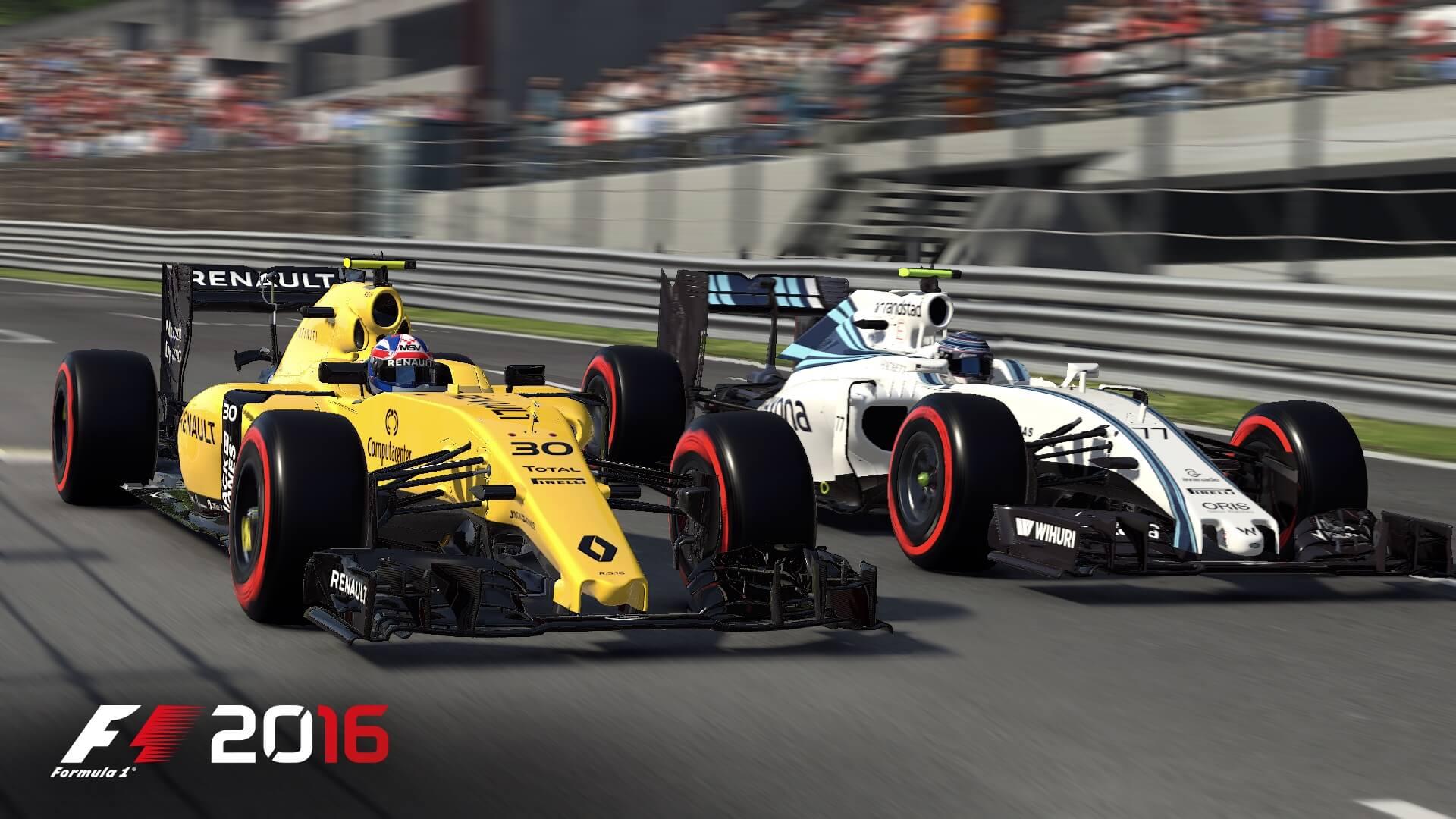 F1 2016: Kopf-an-Kopf-Rennen in Spa (Bildrechte: Feral Interactive)