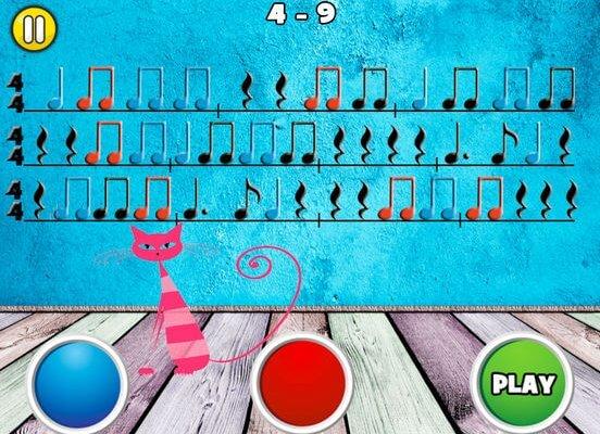 Rhythm Cat Pro HD - Lernen Sie Noten Lesen iOS