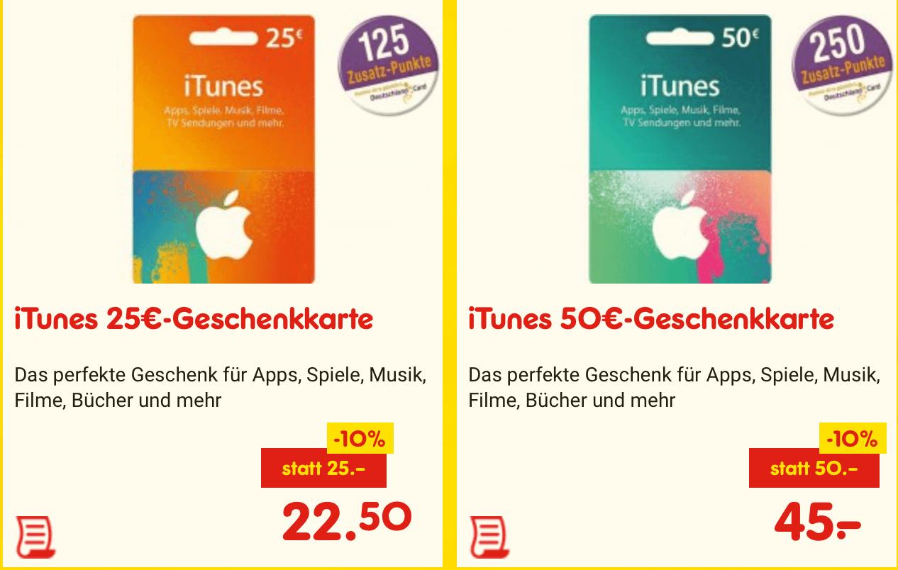 iTunes-Guthabenkarten bei Netto in der Zeit vom 29.05.-03.06.2017 im Angebot (Screenshot von der Netto-Webseite)