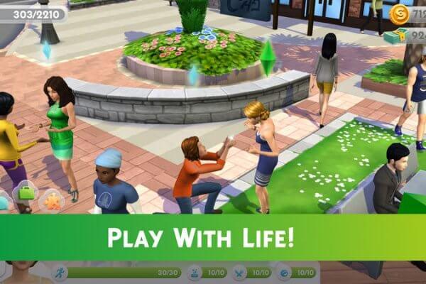 Die Sims Mobile iOS Spiel