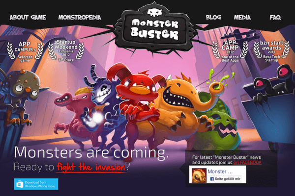 Monster Buster: World Invasion iOS-1