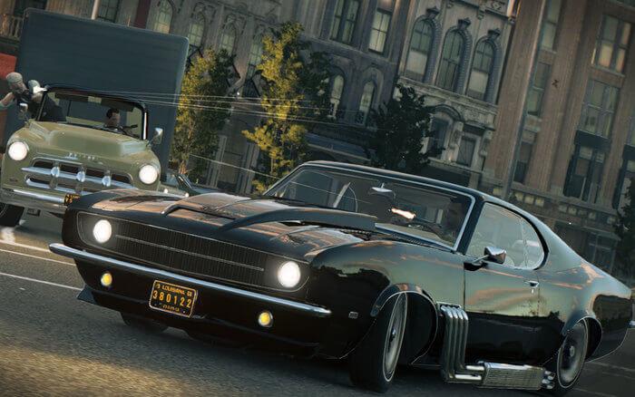 Mafia III: Verfolgungsjagden mit dem Auto gehören dazu (Bildrechte: Aspyr Media)