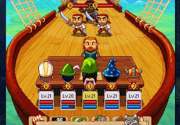 Knights of Pen & Paper 2 iOS