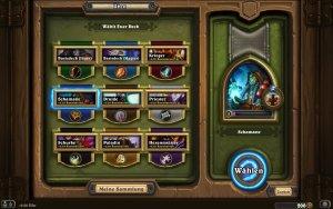 Hearthstone (Mac-Version): Jeder Klasse hat ihr eigenes Kartendeck