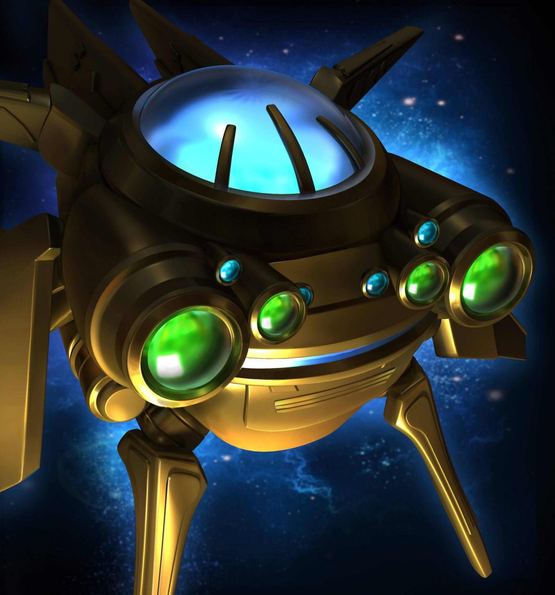 StarCraft Remastered: Probe (Bildrechte: Blizzard Entertainment)