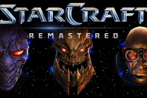 StarCraft Remastered Logo (Bildrechte: Blizzard Entertainment)