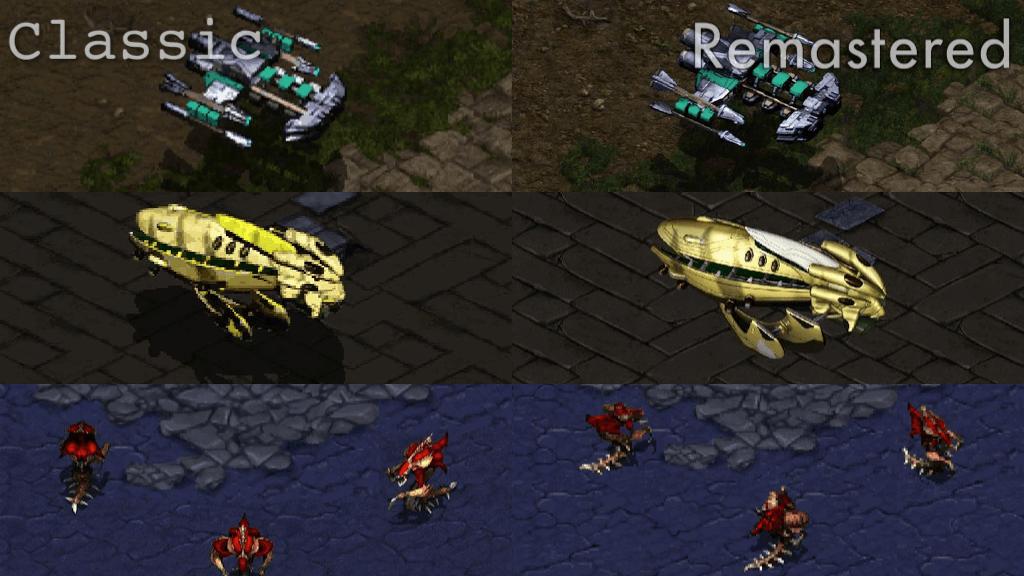 Starcraft Classic und Remastered im Vergleich