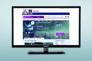 Zur Gamescom 2017 ist der Spiele-Download-Shop Aldi Life Games gestartet