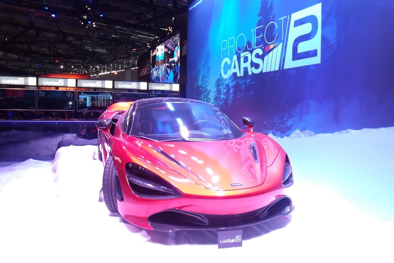 Gamescom 2017: Project Cars 2 mit einem…nunja…Auto am Stand