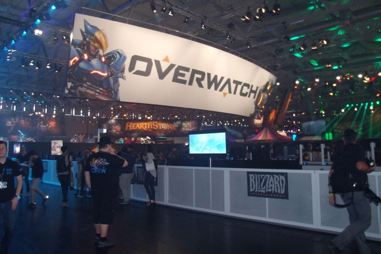 Gamescom 2017: Blizzard hat sich viel Platz für seine Spiele reserviert
