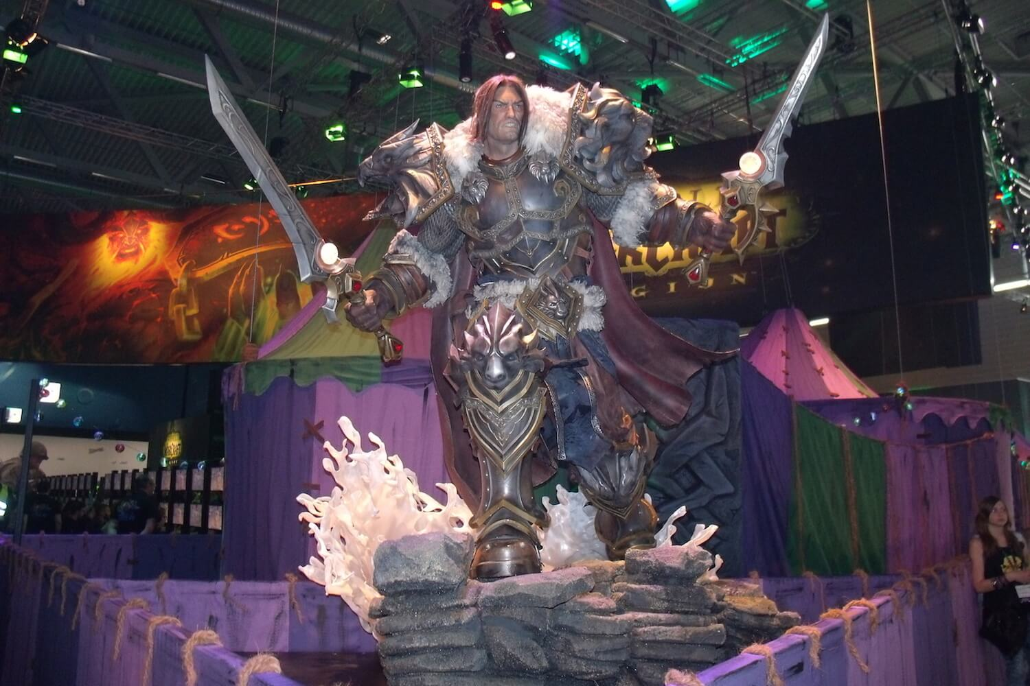 Gamescom 2017: Ein Held aus World of Warcraft: Legion