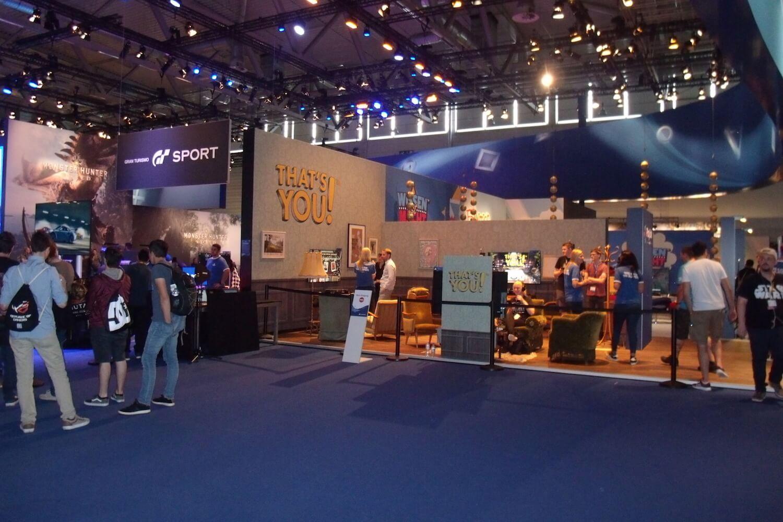 Gamescom 2017: Sony hatte wieder einen der größten Messestände