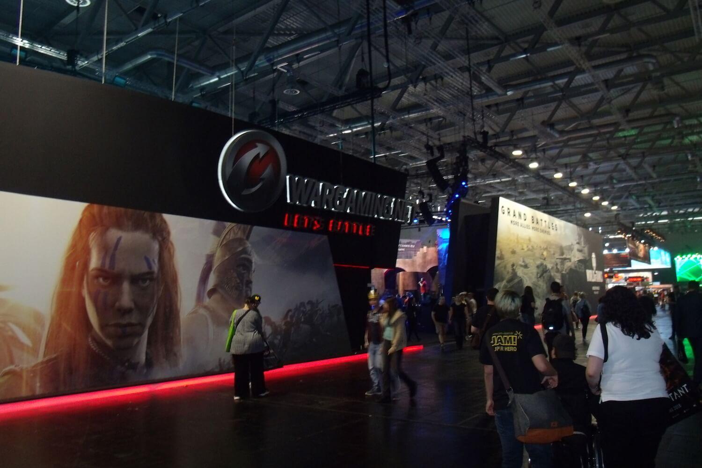 Gamescom 2017: Wargaming hatte einen der größten Stände
