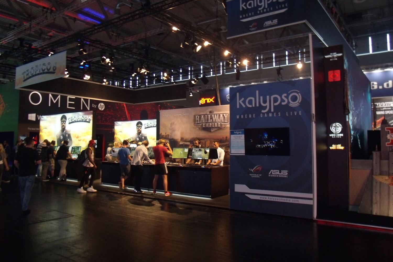 Gamescom 2017: Kalypso – hier gibt es immer den einen oder anderen Titel für den Mac