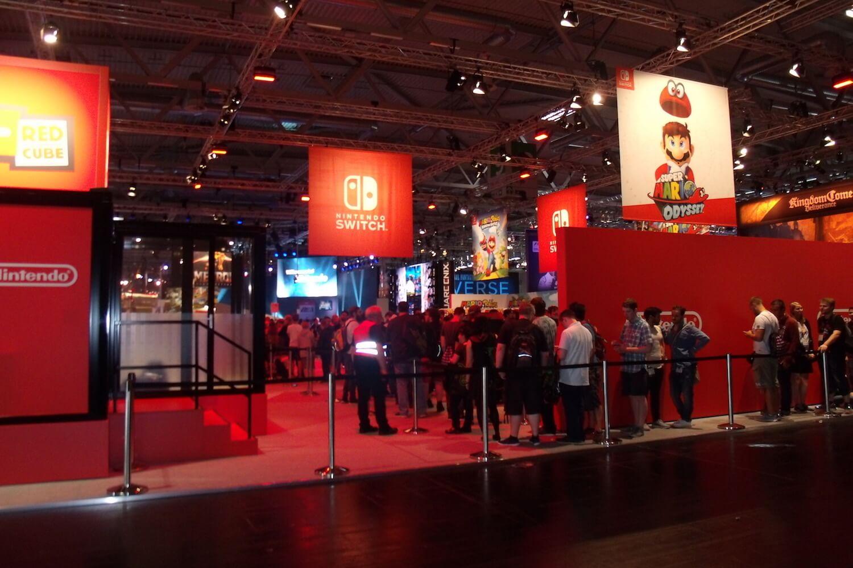 Gamescom 2017: Nintendo präsentierte mit der Switch sich als ebenbürtiger Gegner von PS4 und Xbox One