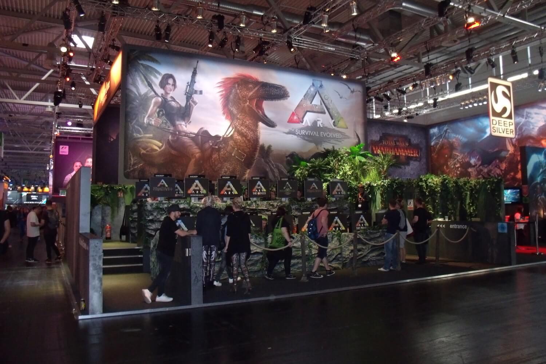 Gamescom 2017: ARK: Survival Evolved hat inzwischen den Early-Access-Status hinter sich gelassen