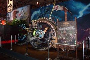 Gamescom 2017: ein eher außergewöhnliches Fortbewegungsmittel – das Doomwheel aus Total War: Warhammer II