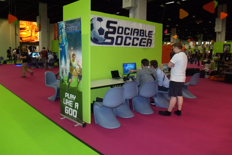 Gamescom 2017: Sociable Soccer ist der geistige Nachfolger von Sensible Soccer