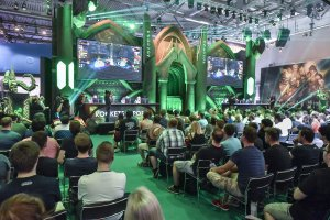 Gamescom 2017: Stand: Blizzard Entertainment, Halle 7 (Bildrechte: Koelnmesse GmbH, Thomas Klerx)