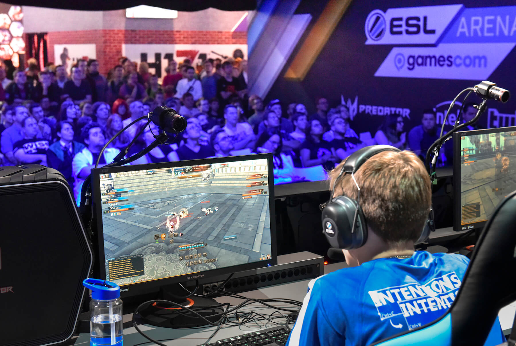 Gamescom 2017: gamescom ESL arena, Stand: Turtle Entertainment, Halle 9 (Bildrechte: Koelnmesse GmbH, Thomas Klerx)