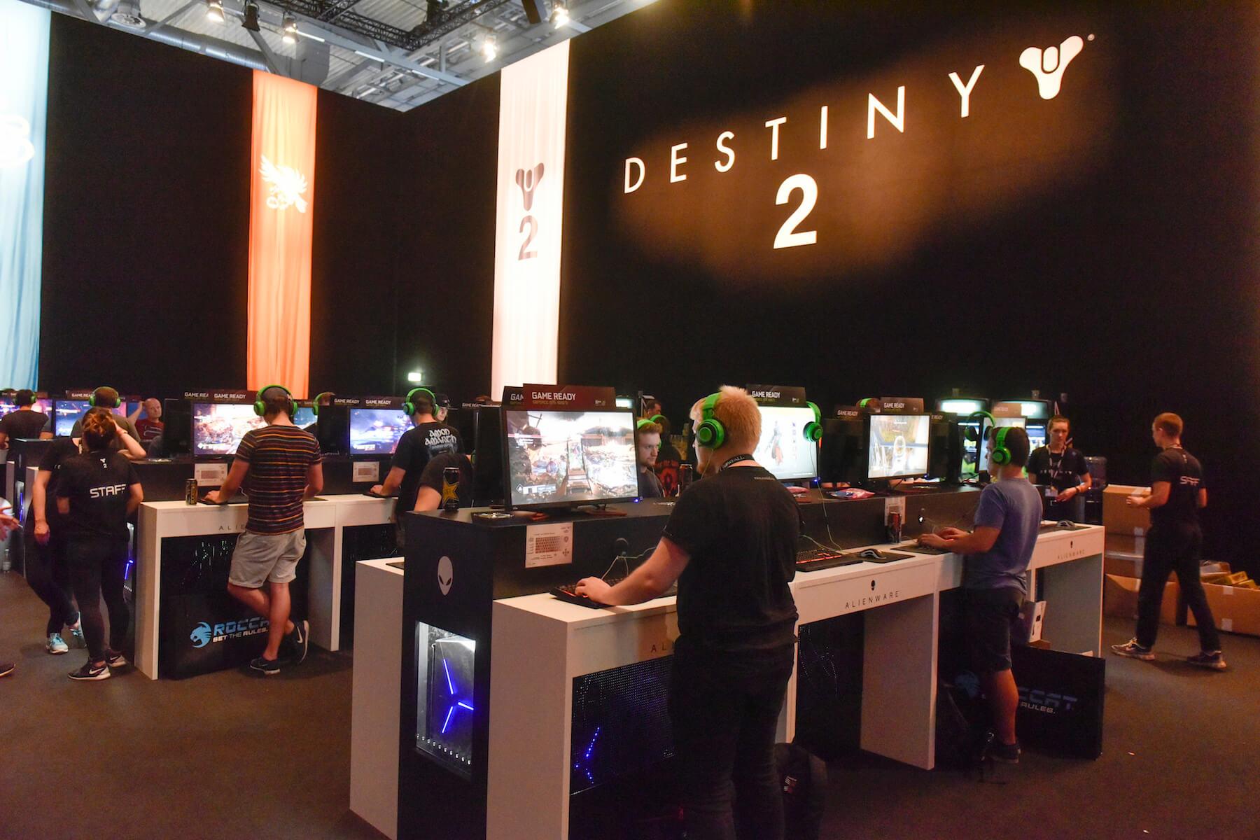 Gamescom 2017: Stand: Activision Blizzard, Halle 8 (Bildrechte: Koelnmesse GmbH, Thomas Klerx)