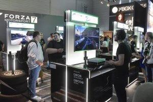 Gamescom 2017: Stand: Microsoft, Halle 8 (Bildrechte: Koelnmesse GmbH, Thomas Klerx)