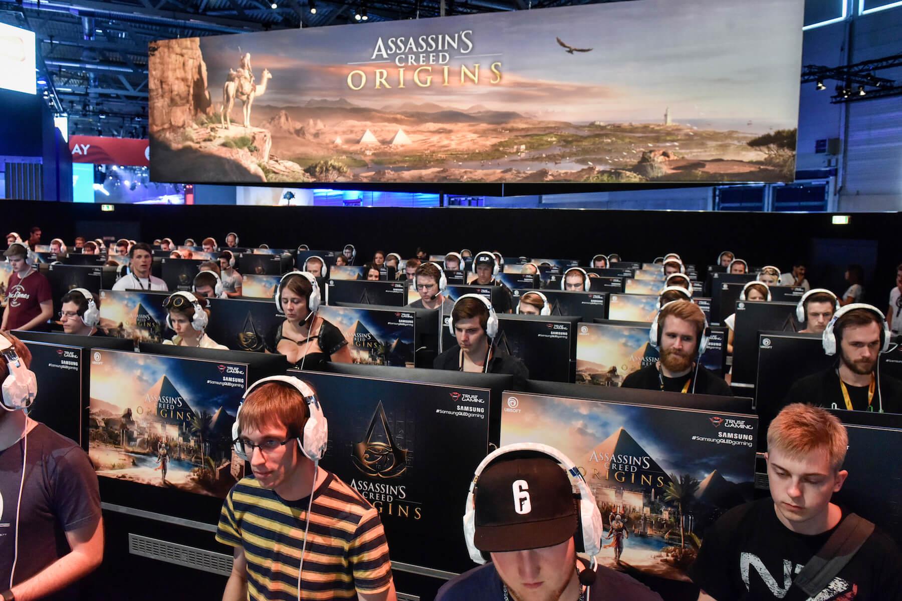 Gamescom 2017: Stand: Ubisoft, Halle 6 (Bildrechte: Koelnmesse GmbH, Thomas Klerx)
