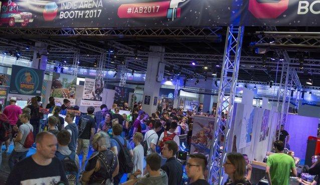 Gamescom 2017: Stand: Indie Arena Booth, Halle 10.1 (Bildrechte: Koelnmesse GmbH, Harald Fleissner)