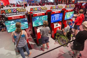 Gamescom 2017: Stand: Nintendo, Halle 9 (Bildrechte: Koelnmesse GmbH, Harald Fleissner)