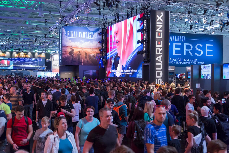 Gamescom 2017: Hallendurchblick, Halle 9 (Bildrechte: Koelnmesse GmbH, Harald Fleissner)