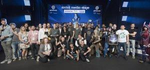 Gamescom 2017: gamescom award 2017, social media stage, Halle 10.1 (Bildrechte: Koelnmesse GmbH, Oliver Wachenfeld)