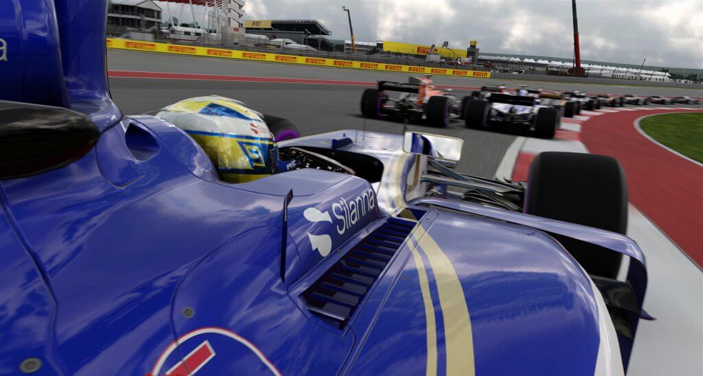 Spielescene F1 2017. Foto: Feral Interactive