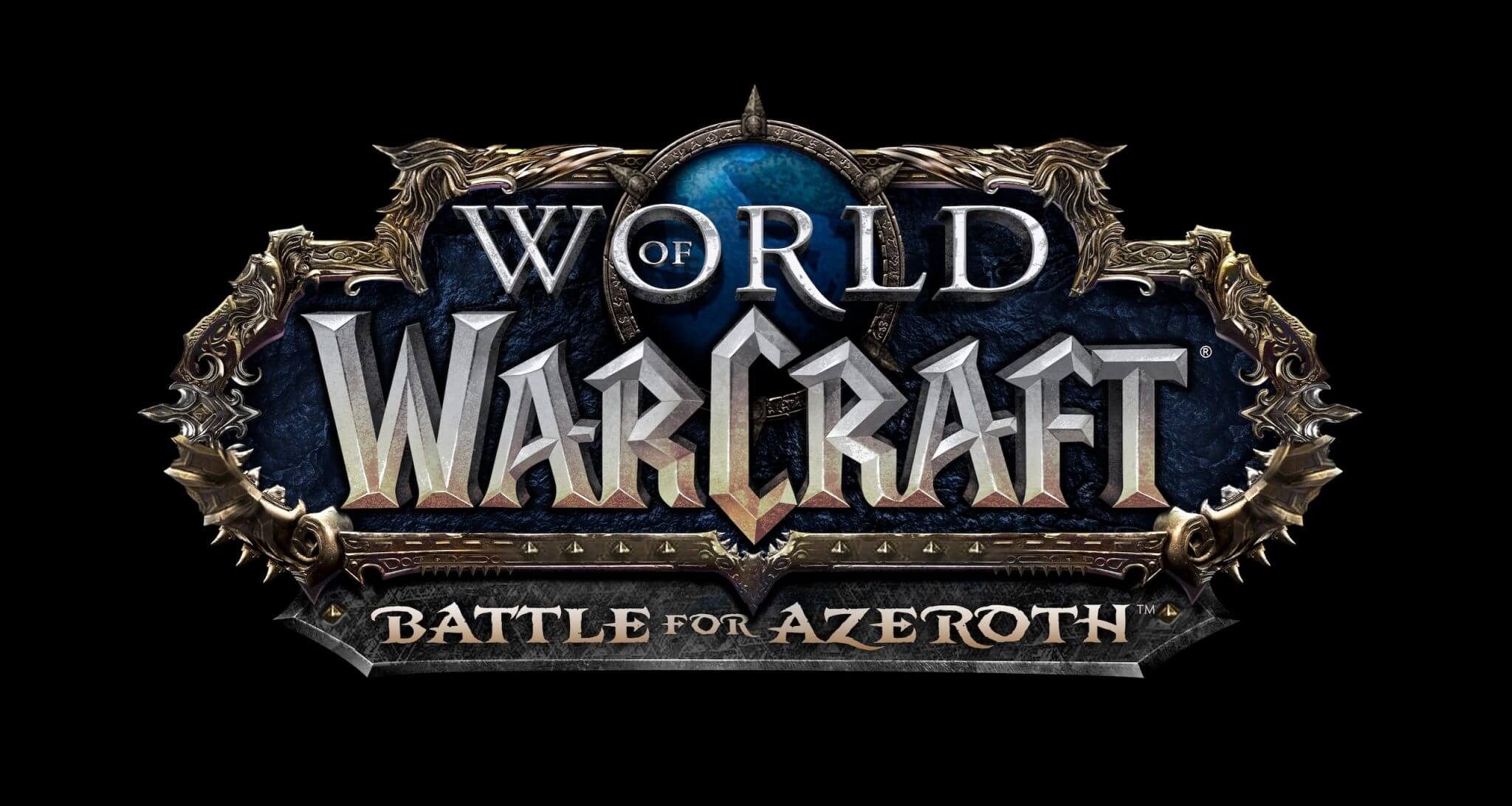 World of Warcraft: Battle for Azeroth – Logo (Bildrechte: Blizzard Entertainment)