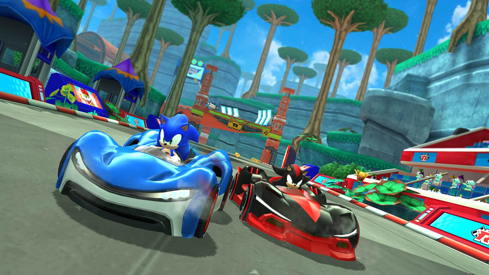 Apple Arcade: Sonic Racing von Sega ist ein Start-Titel des Gaming-Service (Bildrechte: Apple Inc.)