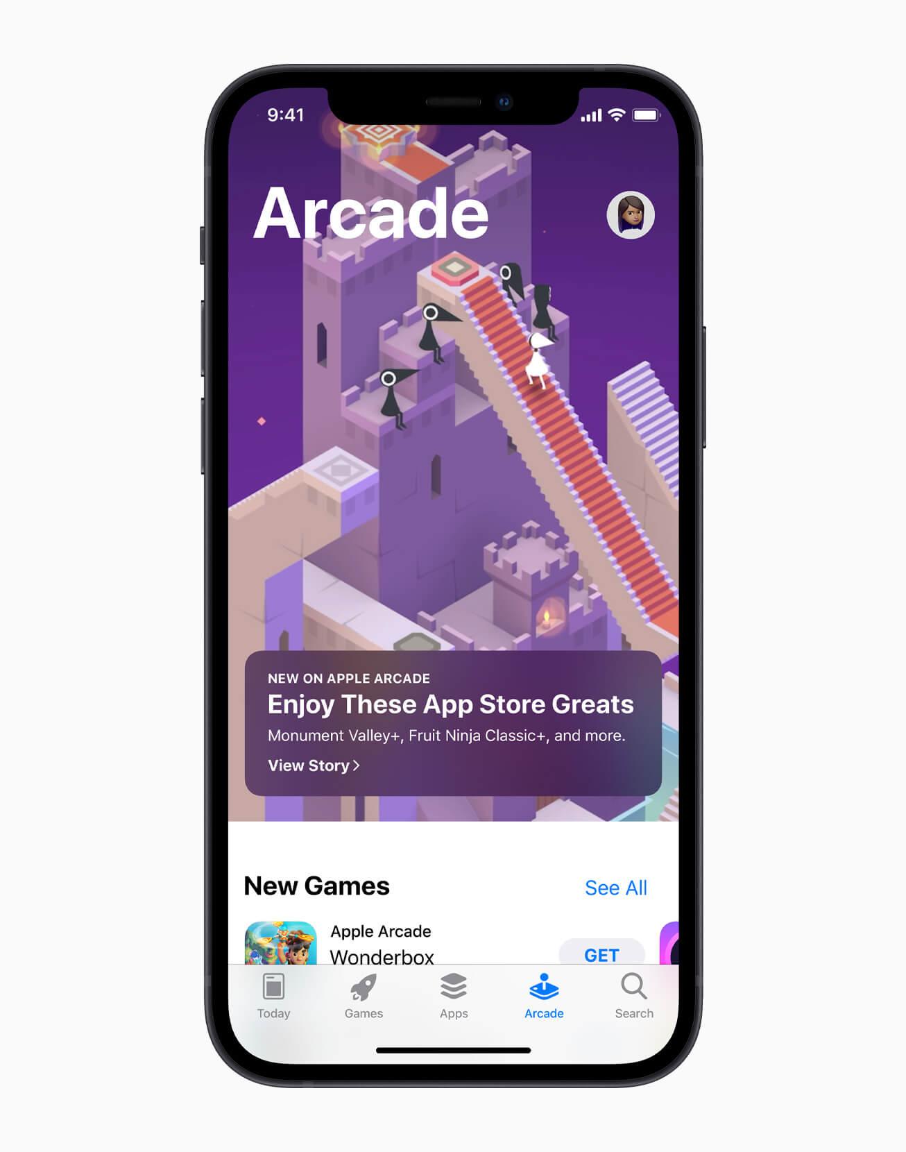 Apple Arcade: Legendäre Spiele des App Store (Bildrechte: Apple)