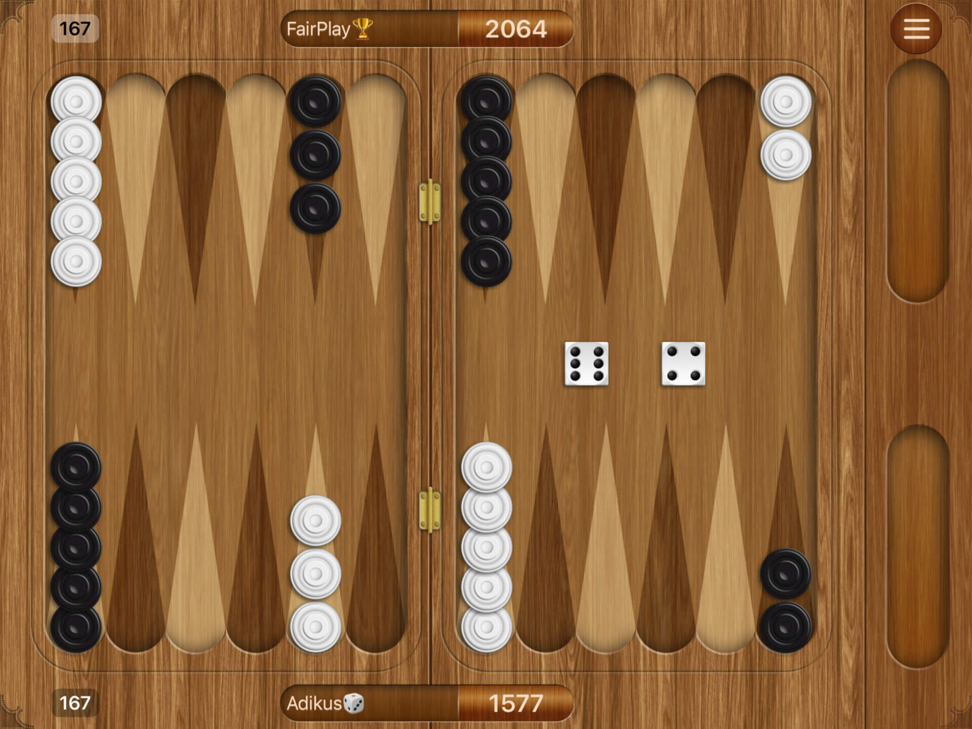 Apple Arcade: Backgammon+ für iPhone und iPad (Bildrechte: Apple)