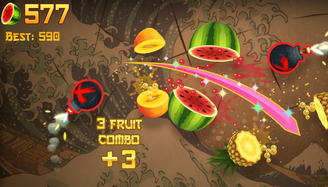 Apple Arcade: Fruit Ninja Classic für iPhone und iPad (Bildrechte: Apple)