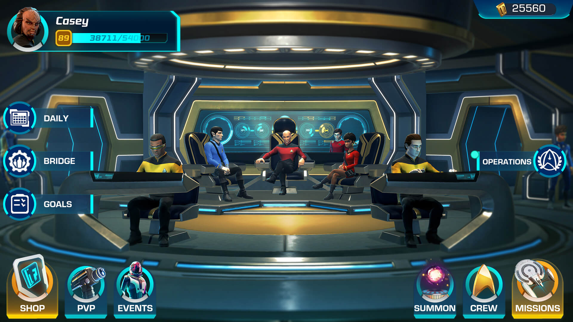 Apple Arcade: Star Trek: Legends für iPhone, iPad, Apple TV und Mac (Bildrechte: Apple)